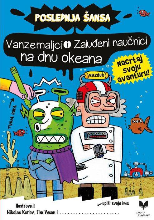 Vanzemaljci i zaluđeni naučnici na dnu okeana