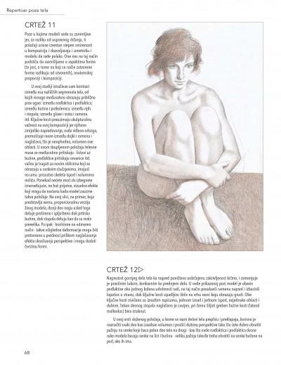 Ljudski Oblik Tehnike Za Crtanje I Slikanje Akta